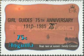 [The 75th Anniversary of the Girl Guides, Typ RL2]