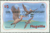 [The 75th Anniversary of the Girl Guides, type RN5]