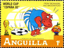 [Disney - Football World Cup - Spain, Typ SN]