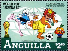 [Disney - Football World Cup - Spain, Typ SV]
