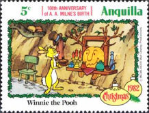 [Disney - The 100th Anniversary of the Birth of Alan Alexander Milne, Typ TC]
