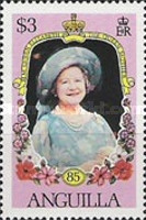 [The 85th Anniversary of the Birth of Queen Mother Elizabeth, Typ XW]