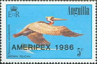 [International Stamp Exhibition AMERIPEX' 86 - Chicago, Typ XZ1]