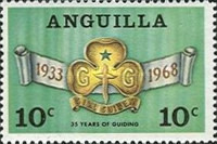 [The 35th Anniversary of the Anguilla Girl Guides Association, Typ Z]