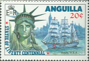 [The 100th Anniversary of the Statue of Liberty - New York, Typ ZF]