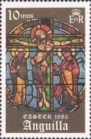 [Easter - Stained Glass Windows from the Cathedral in Chartres, Typ ZV]
