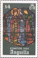 [Easter - Stained Glass Windows from the Cathedral in Chartres, Typ ZY]