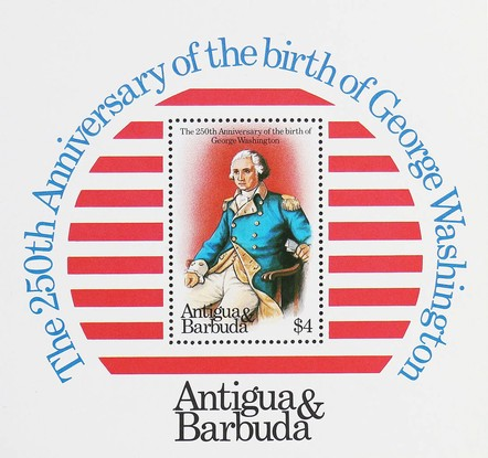 [The 100th Anniversary of the Birth of Franklin D. Roosevelt and the 250th Anniversary of the Birth of George Washintgton, type ]