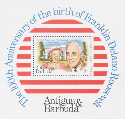 [The 100th Anniversary of the Birth of Franklin D. Roosevelt and the 250th Anniversary of the Birth of George Washington, type ]
