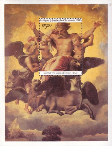 [Christmas - The 500th Anniversary of the Birth of Raphael, type ]