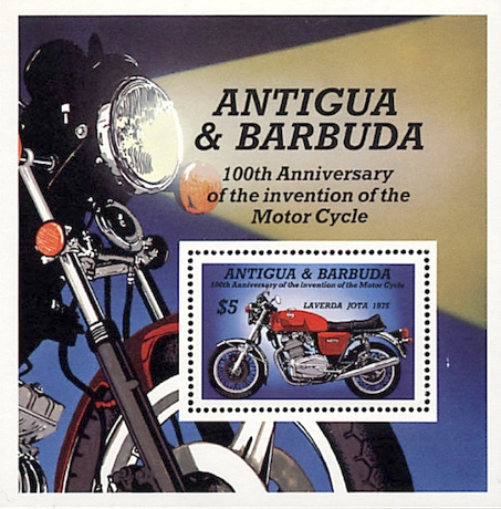 [The 100th Anniversary of the Motorcycle, type ]