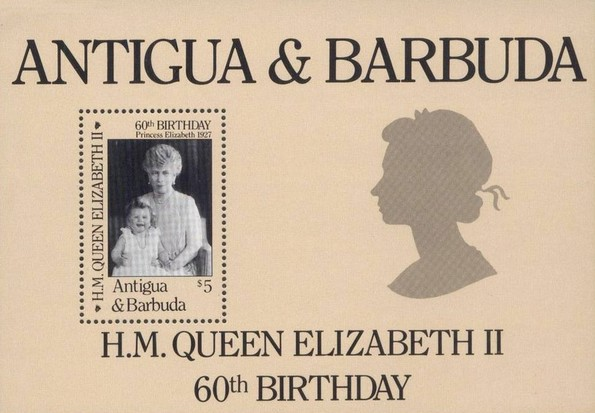 [The 60th Anniversary of the Birth of Queen Elizabeth II, type ]