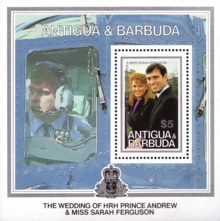 [The Wedding of HRH Prince Andrew and Miss Sarah Ferguson, type ]