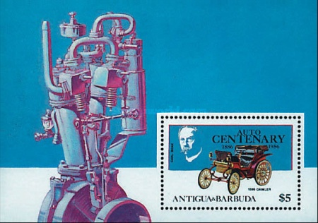 [The 100th Anniversary of the First Benz Motor Car, type ]