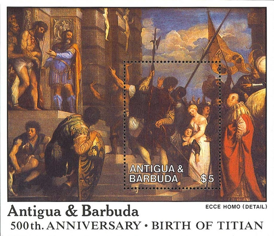 [Easter - The 500th Anniversary of the Birth of Titian, Artist, 1488-1576, type ]