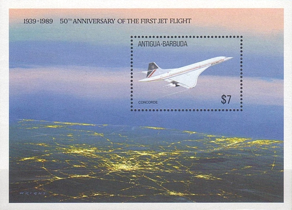 [The 50th Anniversary of the First Jet Flight, type ]