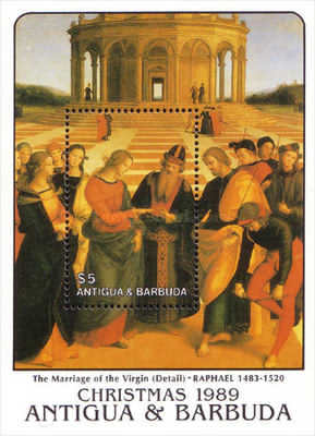 [Christmas - Paintings by Raphael and Giotto, type ]