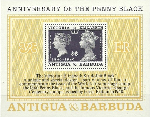 [The 150th Anniversary of the Penny Black, type ]