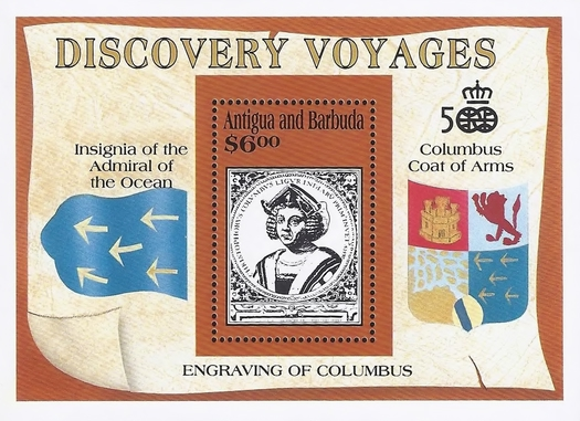 [The 500th Anniversary of the Discovery of America - Discovery Voyages, type ]