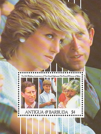 [The 10th Anniversary of the Wedding of Prince Charles and Princess Diana, type ]
