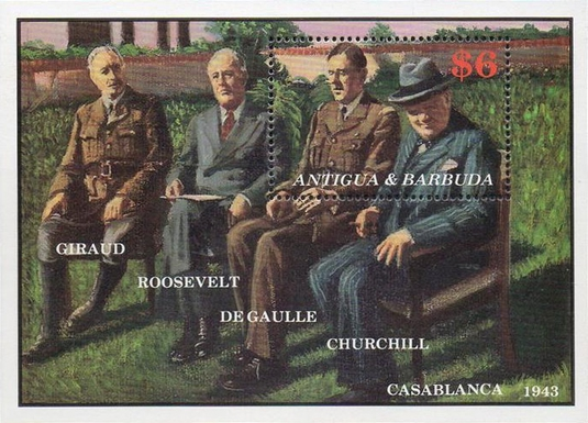 [The 100th Anniversary of the Birth of Charles de Gaulle, 1890-1970, type ]