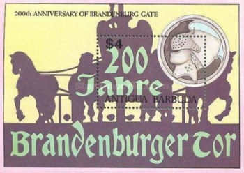 [The 200th Anniversary of the Brandenburg Gate, type ]