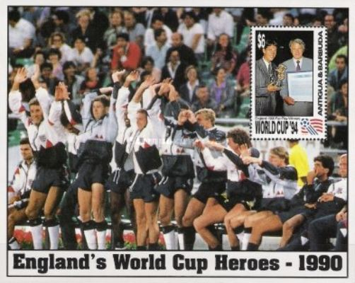 [Football World Cup '94 - USA - World Cup Heroes of England, type ]