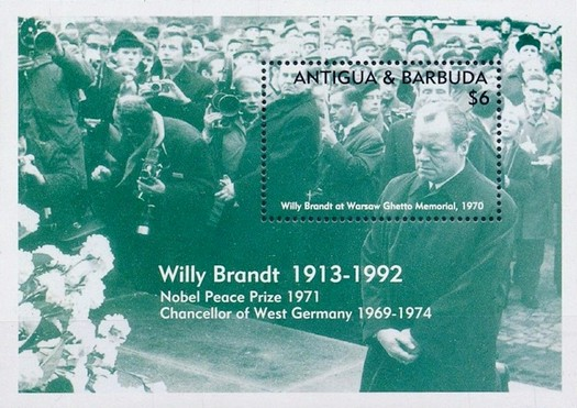 [The 80th Anniversary of the Birth of Willy Brandt, 1913-1992, type ]