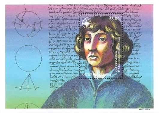 [The 450th Anniversary of the Death of Copernicus, 1473-1543, type ]