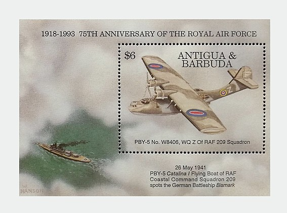 [The 75th Anniversary of the Royal Air Force, type ]