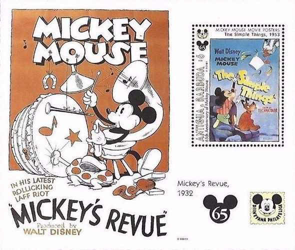[The 65th Anniversary of Mickey Mouse, type ]
