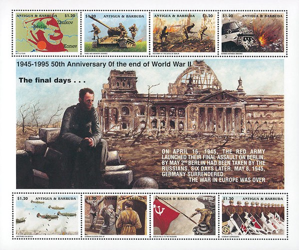 [The 50th Anniversary of the Ending of the World War II in Europe, type ]