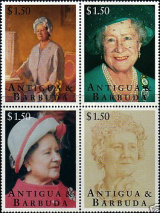 [The 95th Anniversary of the Birth of Queen Mother Elizabeth, type ]