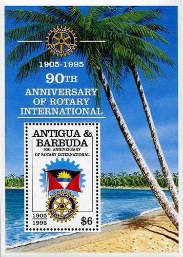 [The 90th Anniversary of the Rotary International, type ]