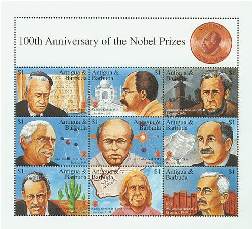 [The 100th Anniversary of the Nobel Prizes, type ]