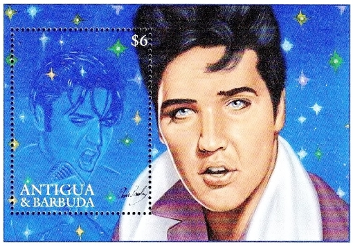 [The 60th Anniversary of the Birth of Elvis Presley, 1935-1977, type ]