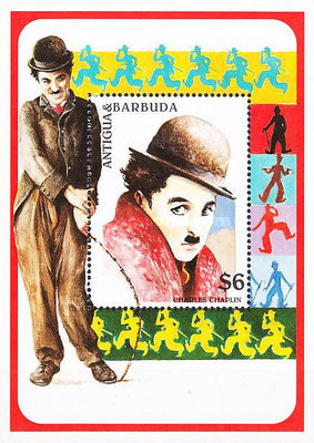 [The 20th Anniversary of the Death of Charlie Chaplin, 1889-1977, type ]
