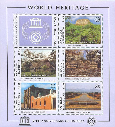 [The 50th Anniversary of the UNESCO - Cultural Heritage, type ]