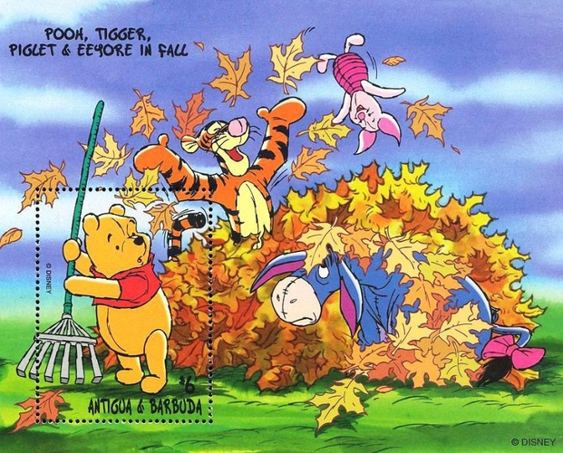 [A Year wigth Winnie the Pooh and his Friends, type ]