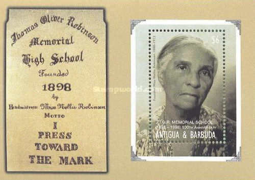 [The 100th Anniversary of the Thomas Oliver Robinson Memorial School, type ]