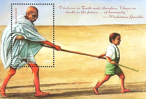 [The 50th Anniversary of the Death of Mahatma Gandhi, type ]
