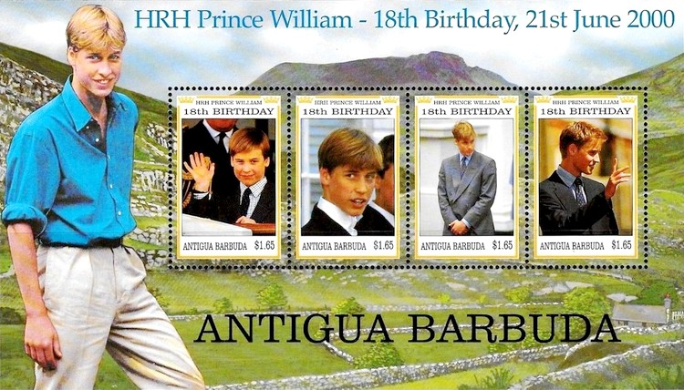 [The 18th Anniversary of the Birth of HRH Prince William, type ]