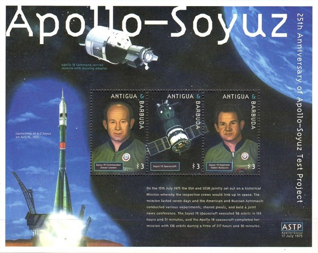 [The 25th Anniversary of the Apollo - Soyuz Test Project, type ]