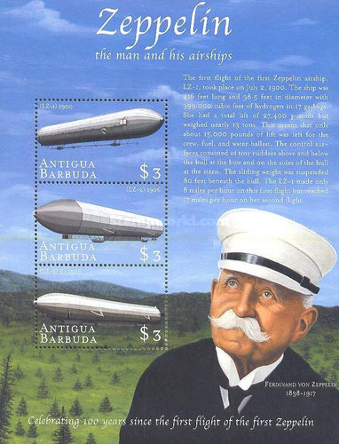 [The 100th Anniversary of the First Flight of the Zeppelin, type ]