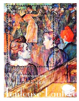 [The 100th Anniversary of the Death of Henri de Toulouse - Lautrec, 1864-1901, type ]