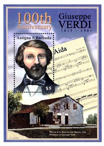 [The 100th Anniversary of the Death of Giuseppe Verdi, 1813-1901, type ]