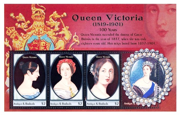 [The 100th Anniversary of the Death of H.M. Queen Victoria, 1819-1901, type ]