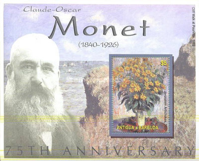 [The 75th Anniversary of the Death of Claude Monet, 1840-1926, type ]
