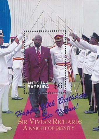 [Sir Vivian Richards Celebrating 50th Birth Anniversary, type ]