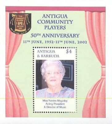 [The 50th Anniversary of Antigua Community Players, type ]